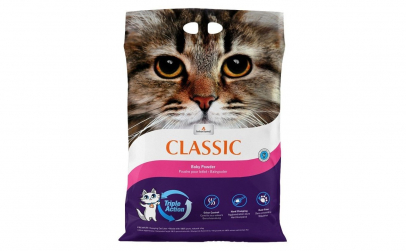 Nisip litiera pisici Baby Powder - 7 kg