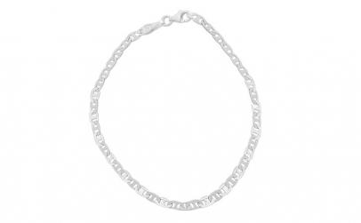 Bratara Argint 925 Unisex cu Zale Plate