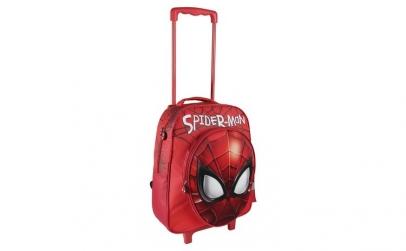 Ghiozdan troler 3D scoala Spiderman