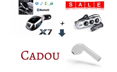Pachet auto: Modulator X7+ Priza + Cadou