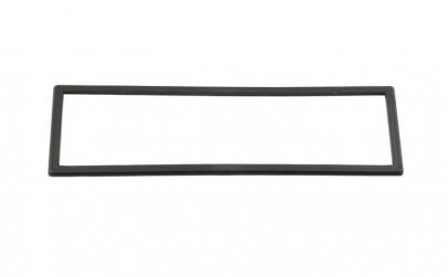 Rama casetofon, negru, 182x53mm, 1 DIN