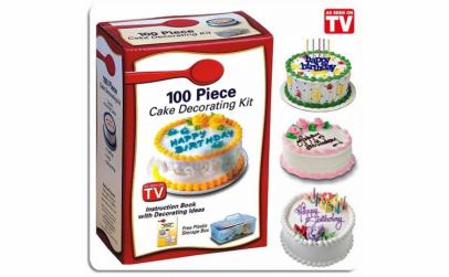 Kit decorare tort - 100 de piese