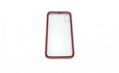 Husa Apple iPhone X Magnetic 360, Rosu