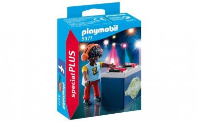 Set figurine Playmobil - Dj