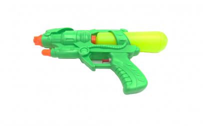 Pistol plastic, apa, verde
