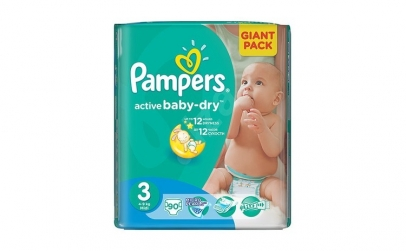Scutece PAMPERS GIANT PACK 3 ACTIVE