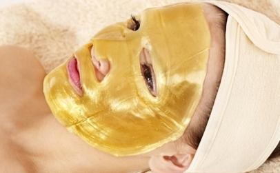 Masca de fata Gold