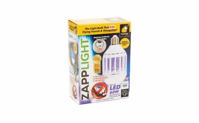 Bec LED cu UV anti-insecte 9W