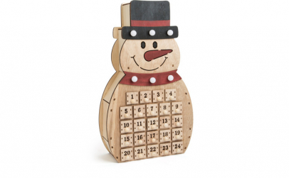 DECOR CRACIUN CALENDAR ADVENT SNOWMAN 40