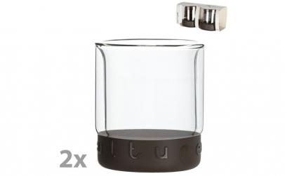 Set 2 pahare cu pereti dubli, Hovac, 2 x