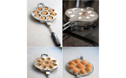 Forma pentru prajituri nuci