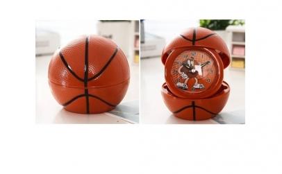 Ceas cu rama foto minge de baschet