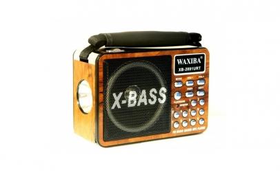 Boxa portabila X-BASS acumulator usb sd