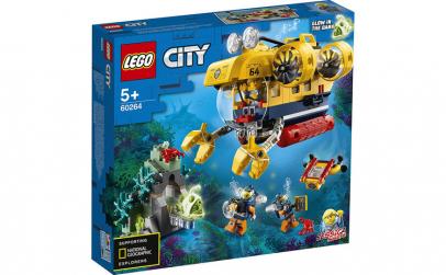 LEGO CITY  SUBMARIN DE EXPLORARE A