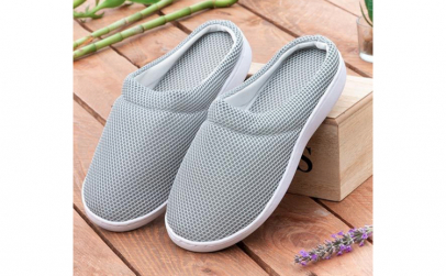 Papuci de casa cu gel Comfort Bamboo