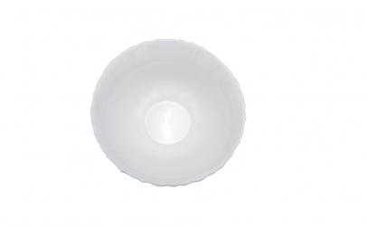 Set 6 boluri, opal, alb,13 cm