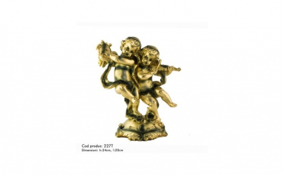 Statueta reprezentand doi ingerasi cu