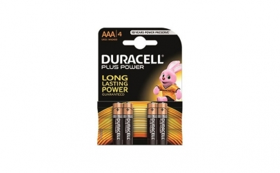 Set baterii alcaline Duracell Basic AAA