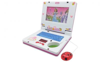 Laptop muzical pentru copii - roz