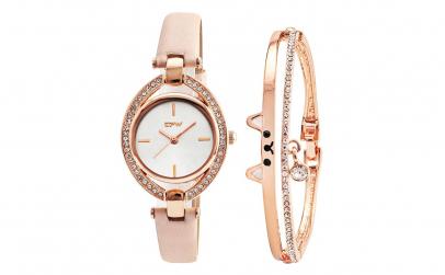 Set ceas quartz cu cristale