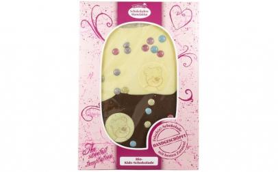 Ciocolata artizanala BIO pentru copii,