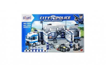 Set de construit CITY POLICE ,691 piese