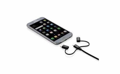 Cablu USB 3 in 1 pentru IOS si Android