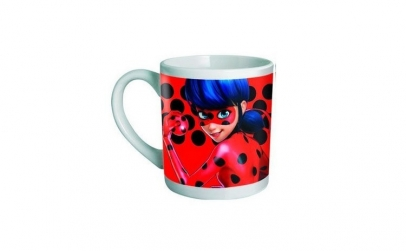 Cana in cutie cu model Ladybug