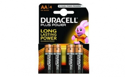 Set baterii alcaline Duracell Basic AA