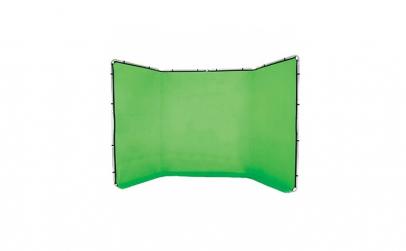 Fundal Croma Key verde Panoramic cu