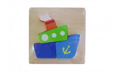 Puzzle din lemn vapor