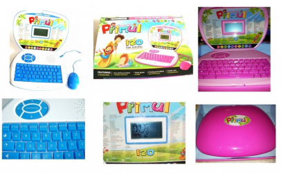 Laptop pentru copii cu 120 functii de
