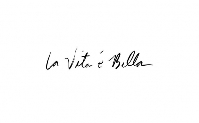 Sticker La Vita e Bella
