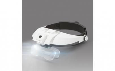 Lupa de cap cu iluminare LED, cu