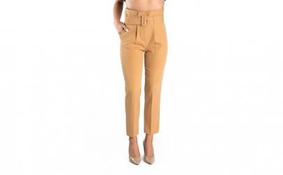 Pantaloni Dama Eleganti Crem Queen 44