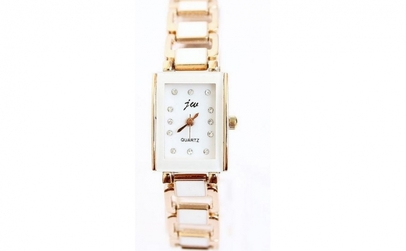 Ceas Jw Gold Plated Square
