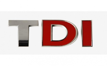 Emblema TDI ( doua litere rosii ) T01