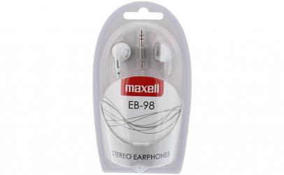 Casca in ureche 3.5mm alb EB98 Maxell