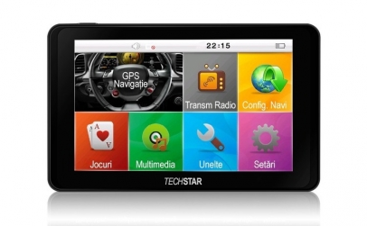GPS Auto Techstar GoTrack 5 inch HD