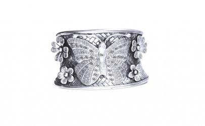 Bratara argint 925 cu fluture si