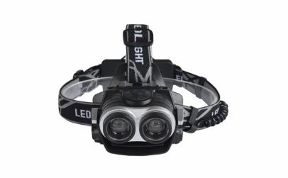 Lanterna frontala, 2 x LED