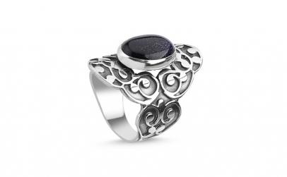 Inel argint Handmade cu Piatra Soarelui