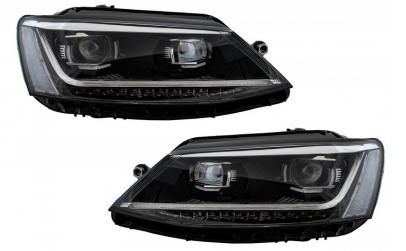 Set 2 faruri LED DRL compatibil cu VW