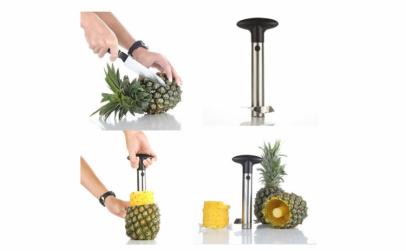 Cutit pentru decojit/feliat ananas