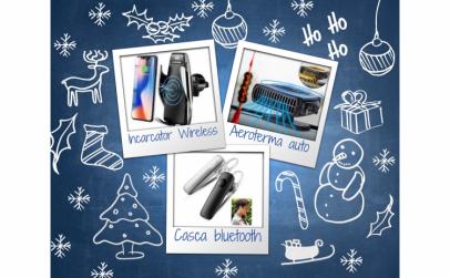 Incarcator Wireless+Aeroterma auto+casca