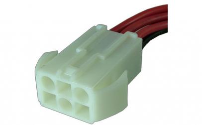 Cablu de semnal, 6 pini, mama, lungime
