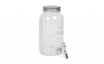 Dozator bauturi cu robinet, sticla, 1