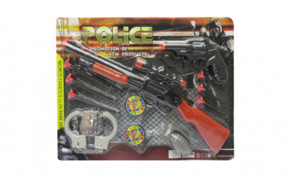 Set Arme, Police, pusca si pistol cu