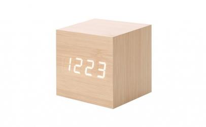 Ceas digital lemn cub vst-869, alarma,
