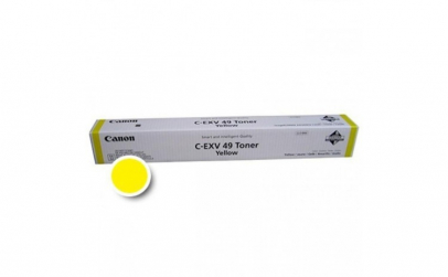 CANON CEXV49Y YELLOW TONER CARTRIDGE